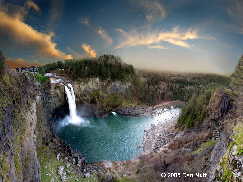 Snoqualmie Falls From Seattle Tour