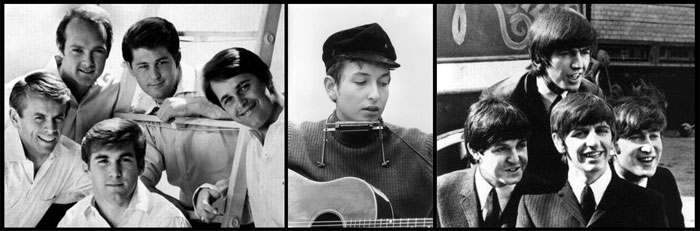 The Triad How Bob Dylan Beach Boys And Beatles Changed