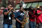 Soul Rebels bring the big brass to Telluride Jazz Parade on Main Street