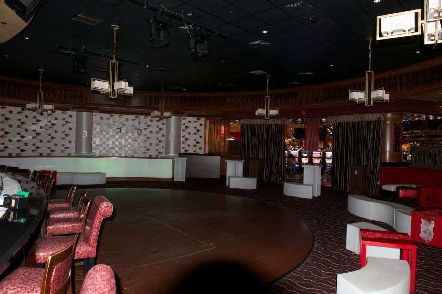 Blue Martini Bar Seating