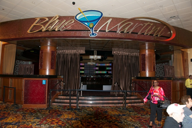 Blue Martini Entrance