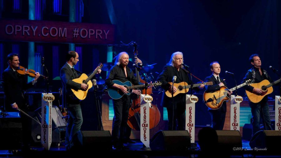 Ricky Skaggs and Barry Gibb