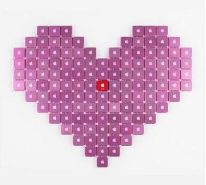jeff grady heart pixel art