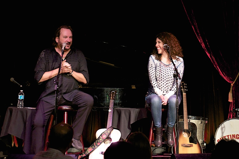 Gary Burr & Georgia Middleman at the Cutting Room, NYC