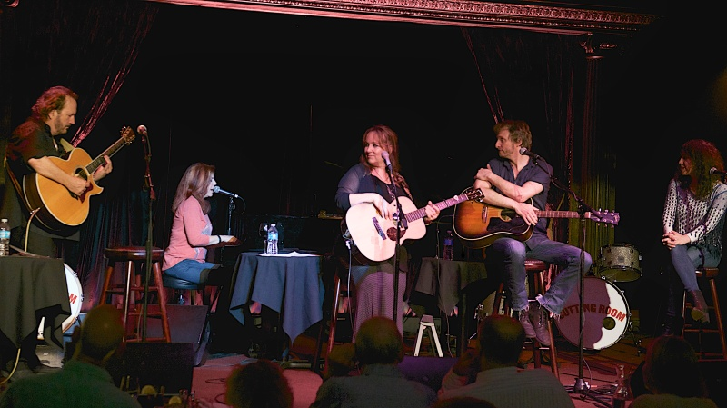 Gary Burr, Victoria Shaw, Gretchen Peters, Dave Berg, Georgia Middleman