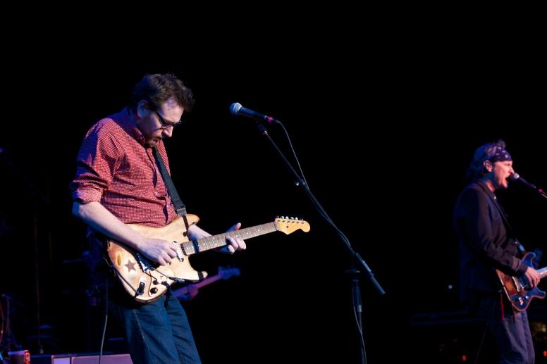 Guitarist Sam Hawksley