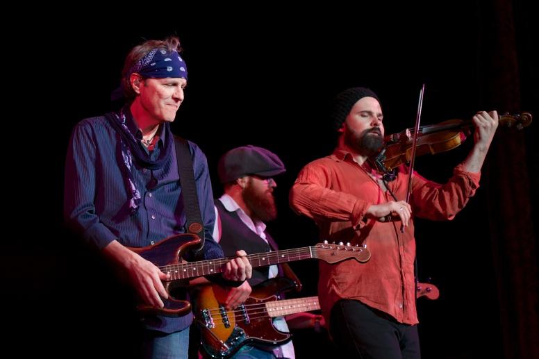 L: Kurt Neumann, Zak Sparks, Dave Duffy