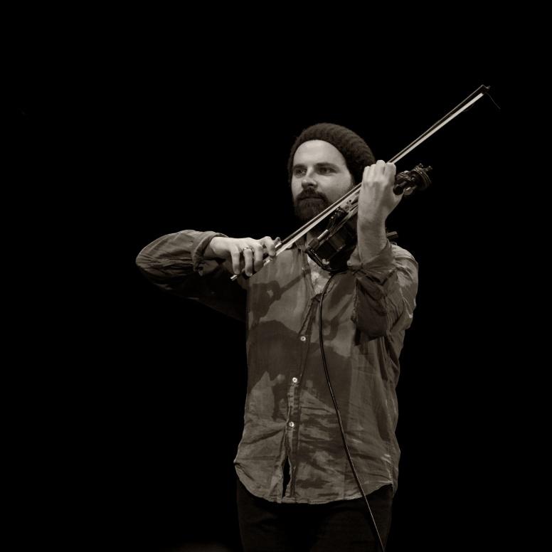 Violinist Dave Duffy
